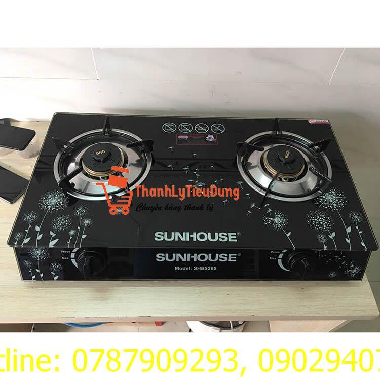 Bếp ga đôi Sunhouse SHB3365 - HÀNG TRƯNG BÀY