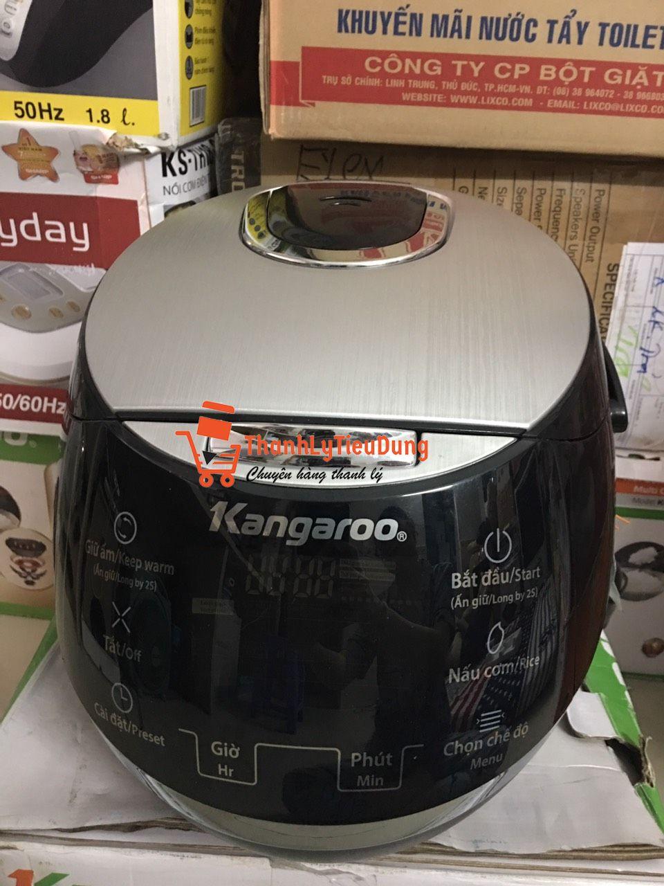 Nồi cơm điện tử 1.8 lít Kangaroo KG595 - ĐÃ QUA SỬ DỤNG