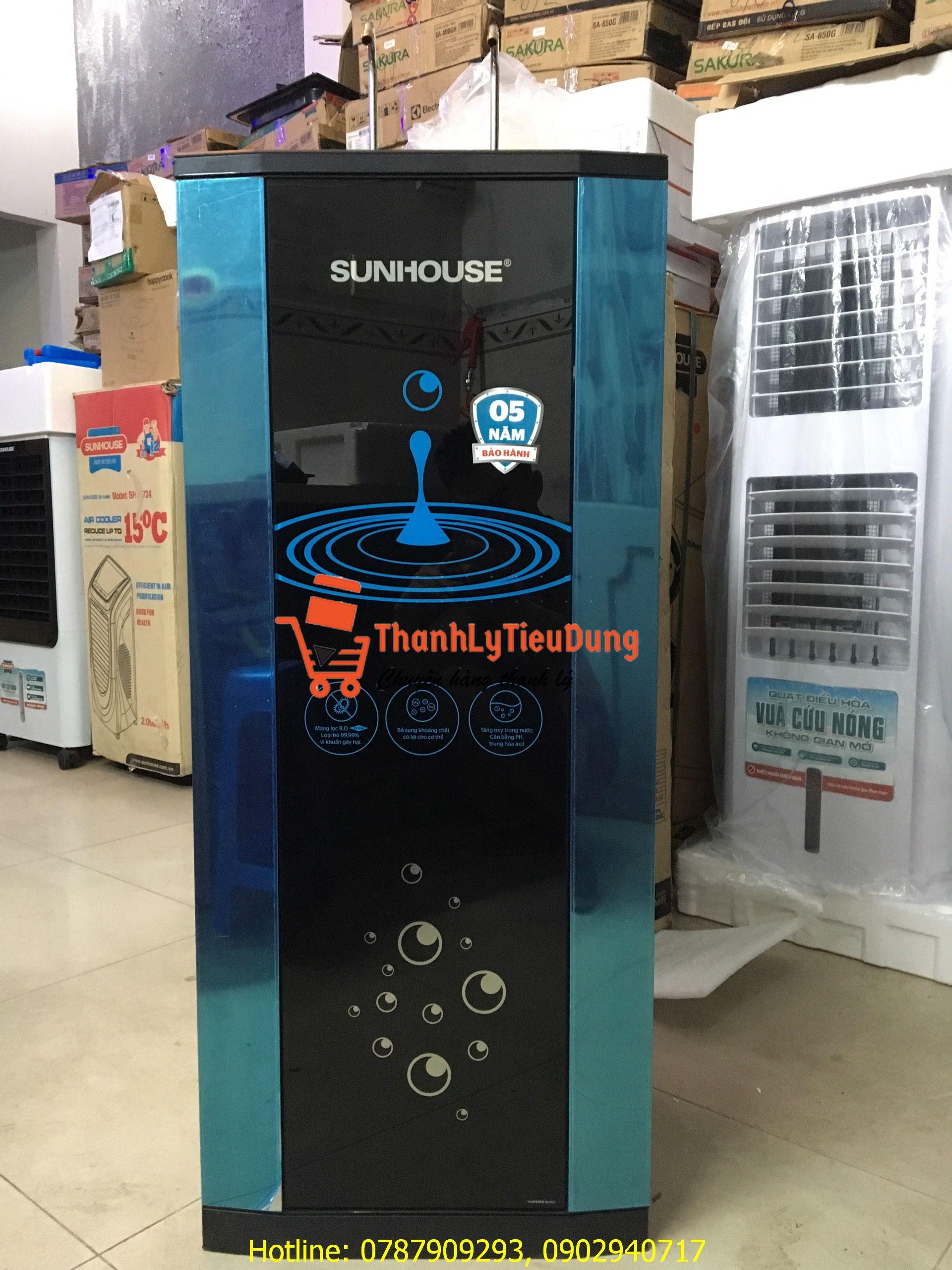 Máy lọc nước RO nóng lạnh Sunhouse SHR76210CK 10 lõi - TRƯNG BÀY
