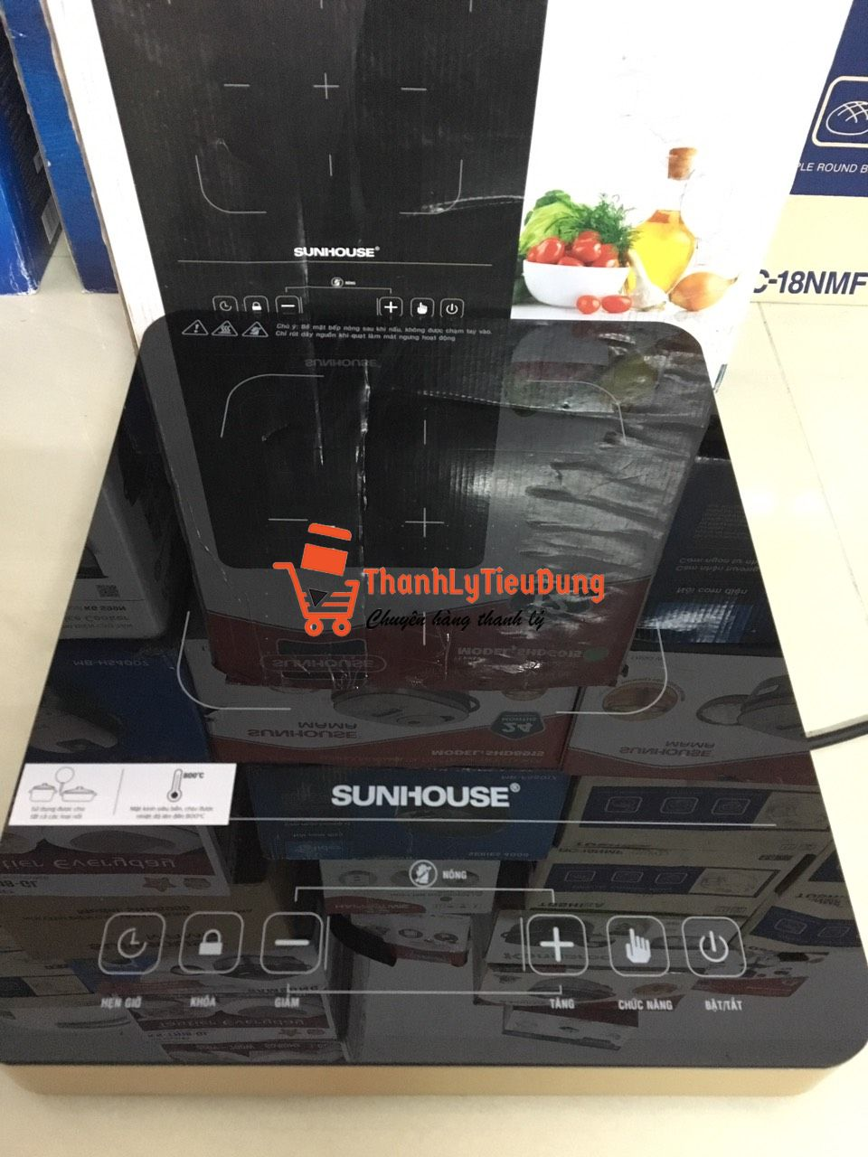 Bếp hồng ngoại Sunhouse SHD 6015 - ĐÃ QUA SỬ DỤNG - MỚI 90%