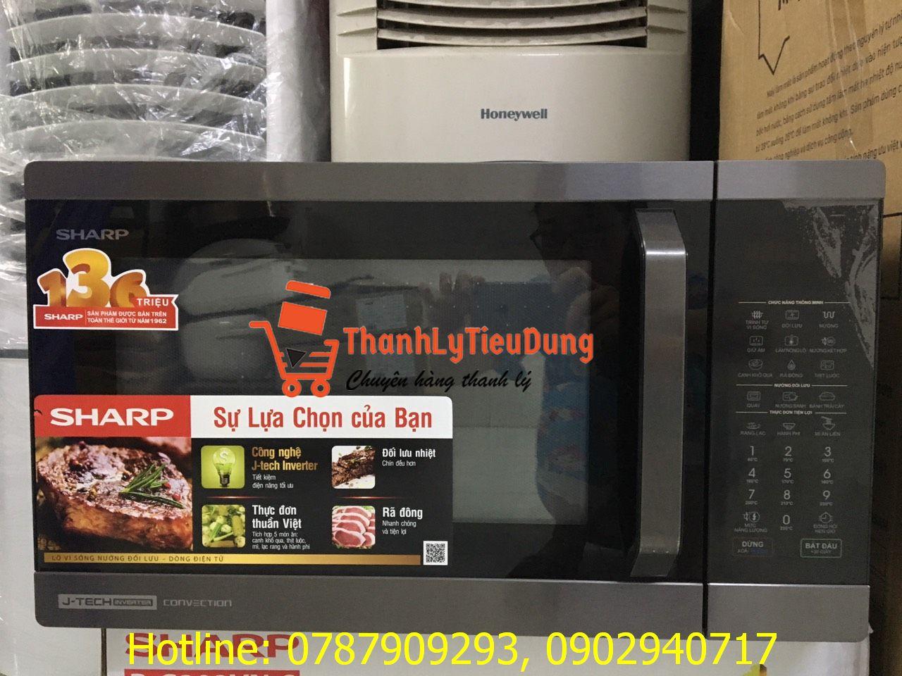 Lò vi sóng Sharp R-C932XVN-BST - HÀNG TRƯNG BÀY