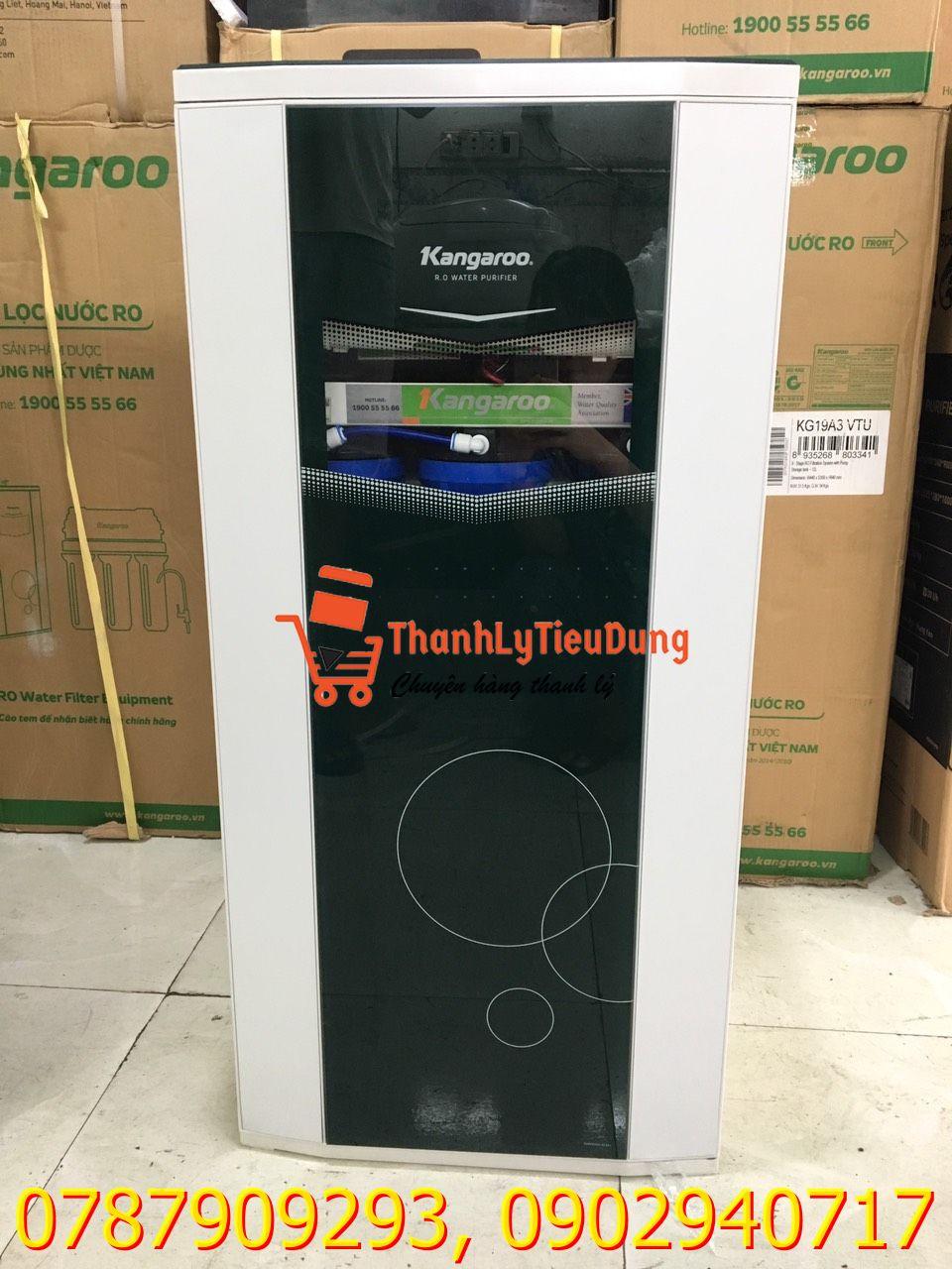 Máy lọc nước RO nóng lạnh Kangaroo KG19A3 VTU - HÀNG TRƯNG BÀY