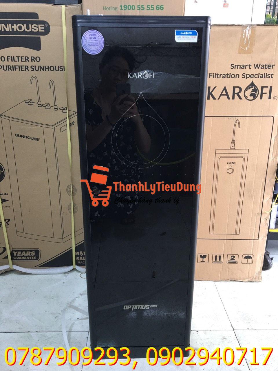 Máy lọc nước RO Karofi Optimus Plus O-P1310 10 lõi - HÀNG TRƯNG BÀY