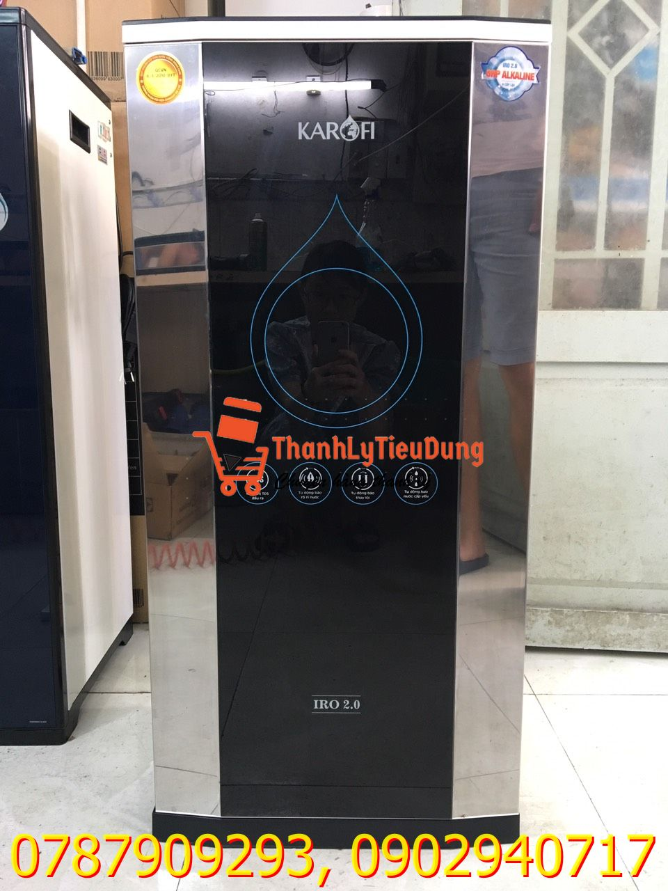 Máy lọc nước RO Karofi 9 lõi K9IQ-2AU - HÀNG TRƯNG BÀY